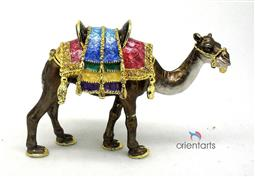 Arabian Dromedary Alloy Trinket Box