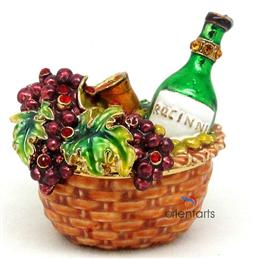 Fruit Gifts Basket Trinket Box