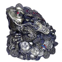 Great Money Frog on Ching Coins