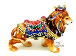 The Amusement Lion Jewelry Box