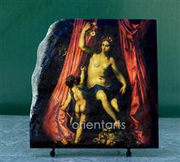 Venus by Hendrik van Balen Oil Painting Replica on Slate