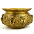 Brass Eight Deities Incense Burner