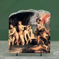 Diana and Actaeon by Giuseppe Cesari Oil Painting Reproduction on Marble Slab