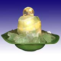 Fluorite Gemstone Water Fountain