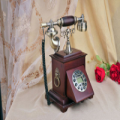Hardwood Old Style Telephone