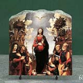 Incarnation of Jesus by Piero Di Cosimo Oil Painting Reproduction on Marble Slab