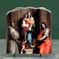 Madonna of the Harpies by Andrea Del Sarto Oil Painting Reproduction on Marble Slab