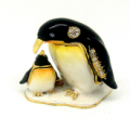 Mother and Son Penguins Trinket Box
