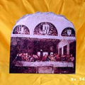 The Last Supper by Da Vinci Oil Painting Reproduction on Slate