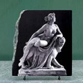 Sculpture Art Ariadne on the Panther by Heinrich Dannecker Painting on Marble Slab