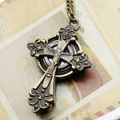 The Cross of Jesus Metal Pocket Watch
