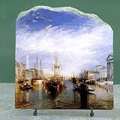 The Grand Canal Venice by Joseph Mallord William Turner Oil Painting Reproduction on Marble Slab