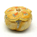 The Petal Design Alloy Trinket Box