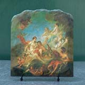 Vulcan Presenting Venus With Arms For Aeneas by Francois Boucher Oil Painting Reproduction on Natural Stone