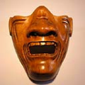 Wood Netsuke Devil